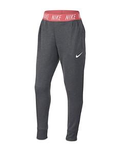 Nike - Girls' Slim-Fit French Terry Studio Pants - Big Kid