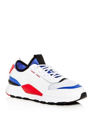 Boys' Grade School Evolution Rs-0 Sound Casual Shoes, White
