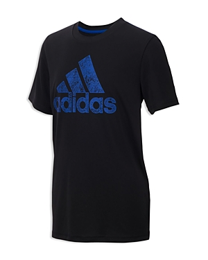 Adidas Boys' Printed-Logo Tee - Big Kid