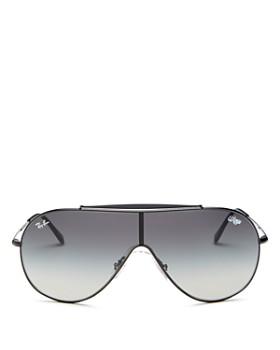 Ray-Ban - Women's Brow Bar Shield Sunglasses, 140mm