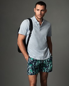 The Men's Store at Bloomingdale's Polo Shirt & Vilebrequin Swim Trunks - 100% Exclusive_0