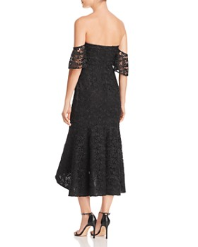 SAU LEE - Micaela Off-the-Shoulder Lace Dress