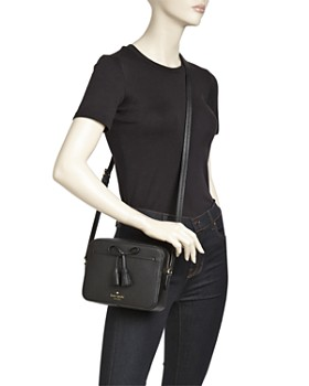 kate spade new york - Hayes Street Aria Small Leather Crossbody