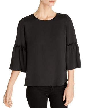 LE GALI ELINA BELL-SLEEVE BLOUSE - 100% EXCLUSIVE