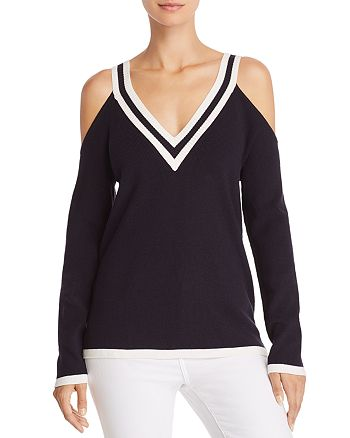 Bailey 44 - Sheffield Cold-Shoulder Sweater