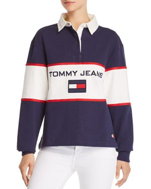 Tommy Jeans '90s Color-Block Rugby Shirt 2978451
