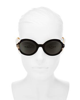 8ea348ae18b4d ... 53mm Prada - Women s Etiquette Round Sunglasses