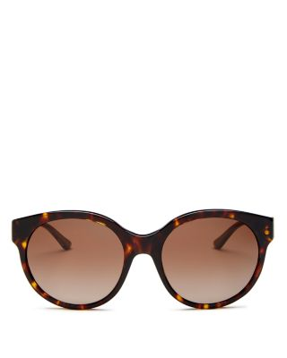 Women's Polarized Round Sunglasses, 55mm by Tory Burch