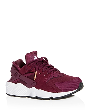 Nike Women's Air Huarache Run Se Lace Up Sneakers