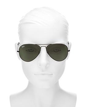 Ray-Ban - Unisex Classic Aviator Sunglasses, 58mm