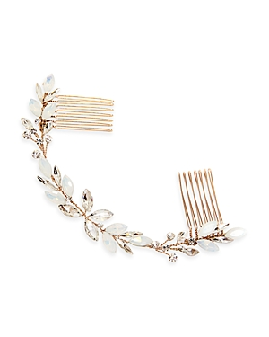 Brides and Hairpins Monroe Crystal Halo Comb
