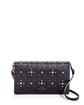 COACH - Prairie Rivets Leather Convertible Crossbody