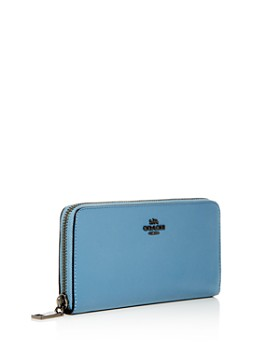 COACH - Slim Continental Leather Zip Wallet