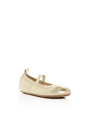 Yosi Samra Girls' Miss Samara Leather Ballet Flats - Baby, Toddler, Little Kid, Big Kid