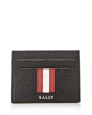 Bally Taclipos Money Clip Leather Card Case-Men