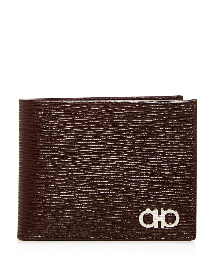 Salvatore Ferragamo - Gancini Revival Leather Bi-Fold Wallet