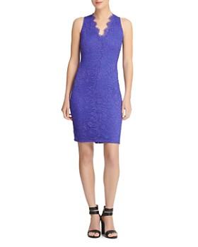 Donna Karan - Scalloped Lace Dress