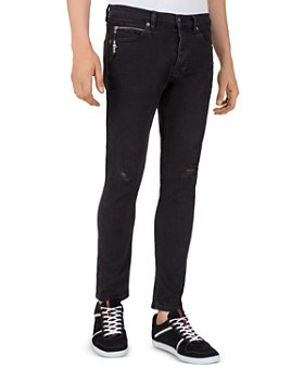 The Kooples - Cropped XX Fit Jeans in Black