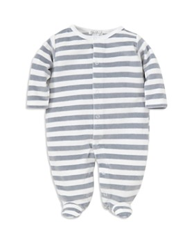 Kissy Kissy - Boys' Striped Velour Footie - Baby