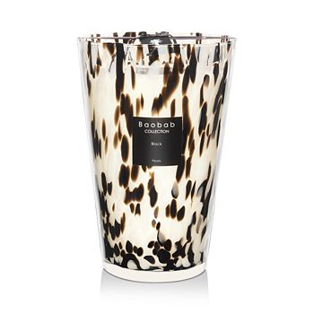 Baobab Collection - Black Pearls Candle, Maxi Max