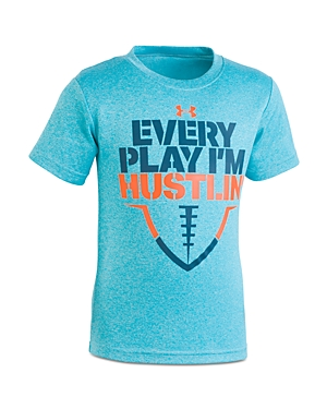 Under Armour Boys' Every Play I'm Hustling Tee - Little Kid
