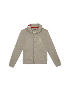Hudson - Boys' French Terry Sweatshirt Cardigan, Big Kid - 100% Exclusive