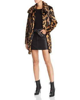 Unreal Fur -  Leopard Print Furever Faux Fur Coat