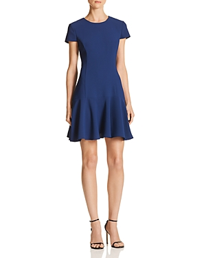 Amanda Uprichard Hudson Flounced Dress