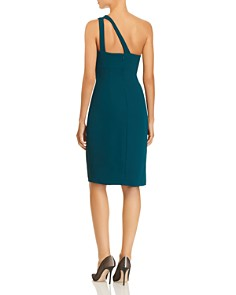 Avery G - One-Shoulder Crepe Dress