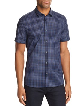 HUGO - Empson Plaid Extra Slim Fit Button-Down Shirt