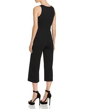 Sunset & Spring - Deep V-Neck Cropped Jumpsuit - 100% Exclusive