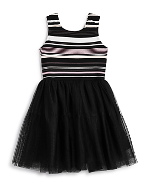 Pippa & Julie Girls' Stripe Tutu Dress - Little Kid