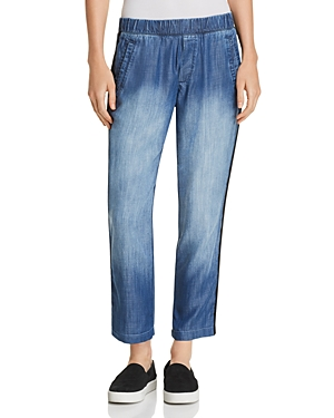 Bella Dahl Chambray Ankle Pants
