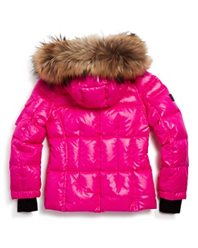 SAM. - Girls' Blake Fur-Trimmed Down Jacket - Little Kid