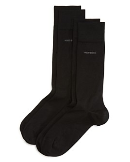 BOSS - Solid Dress Socks - Pack of 2