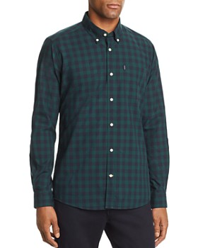 Barbour - Endsleigh Gingham-Print Tailored Fit Button-Down Shirt