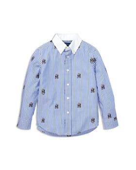 Ralph Lauren - Boys' Striped Polo Bear Stretch Cotton Shirt - Little Kid