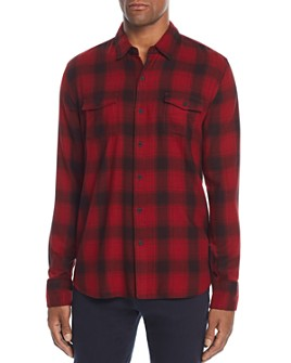 PAIGE - Everett Plaid Regular Fit Shirt