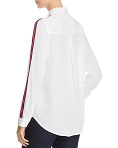 BeachLunchLounge - Stripe-Detail Shirt