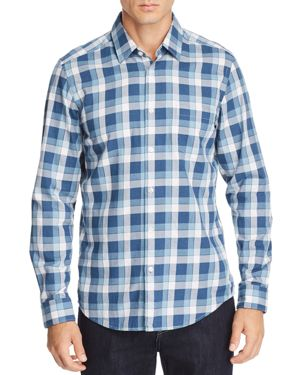 BOSS LUKAS PLAID REGULAR FIT SHIRT