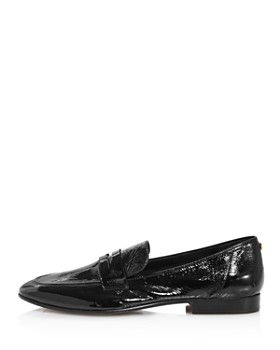 kate spade new york - Women's Genevieve Almond Toe Patent Leather Loafers