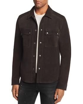 Belstaff - Malyon Suede Shirt Jacket