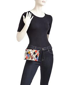 Elizabeth and James - Penpal Patchwork Medium Leather Belt Bag