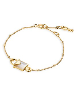Michael Kors - Kors Color Semi-Precious 14K Gold-Plated Sterling Silver Bracelet