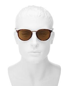 Persol - Men's Polarized Round Sunglasses, 51mm