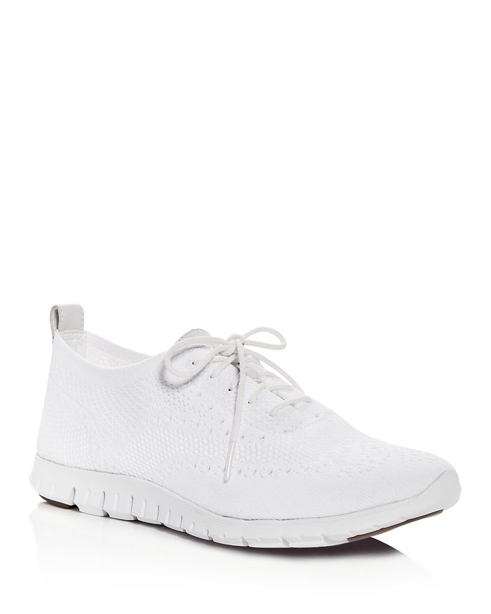 Cole Haan - Women's ZeroGrand Stitchlite Knit Lace-Up Oxford Sneakers