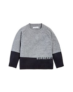 Burberry Boys' New Core Color-Block Cashmere Sweater - Little Kid, Big Kid - Bloomingdale's_0