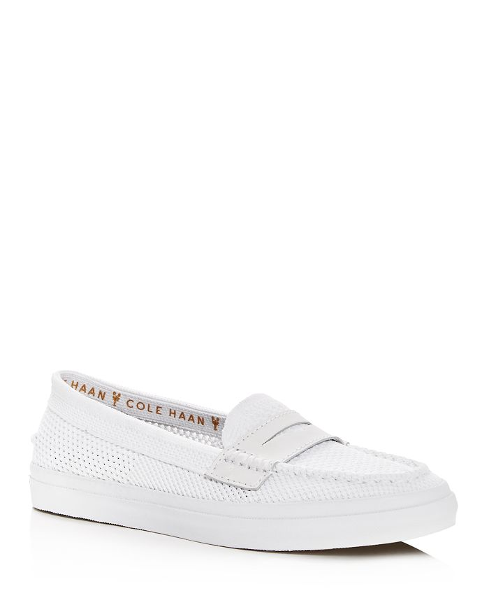 14592850f79 Cole Haan Women's Pinch Weekender LX Stitchlite Knit Penny Loafers ...