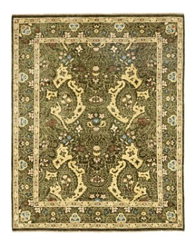 """Solo Rugs - Oushak 8 Hand-Knotted Area Rug, 8' x 10' 1"""""""