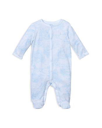 b05b313d1 Ralph Lauren Boys' Toile-Print Cotton Footie - Baby | Bloomingdale's